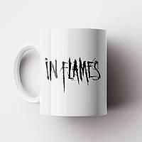 Чашка In Flames. Музыка. Metal. Метал. Чашка с фото, фото 1