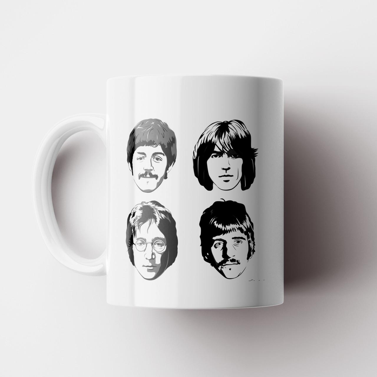 Чашка The Beatles. Битлз. Музыка. Чашка с фото