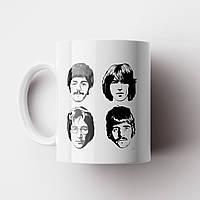 Чашка The Beatles. Битлз. Музыка. Чашка с фото, фото 1