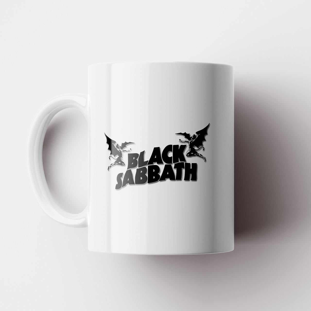 Чашка Black Sabbath. Музыка. Чашка с фото