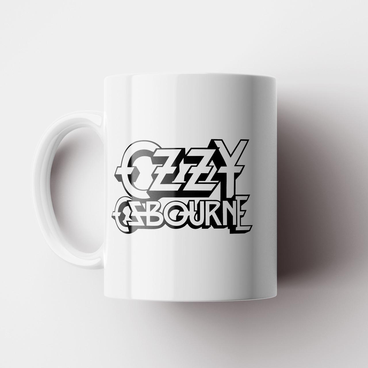 Чашка Ozzy Osbourne. Музыка. Чашка с фото