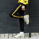 Мужской утепленный спортивный костюм Off-White, на флисе, худи - штаны весна/осень/зима, фото 2