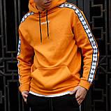 Мужской утепленный спортивный костюм Adidas, на флисе, худи - штаны весна/осень/зима, фото 2