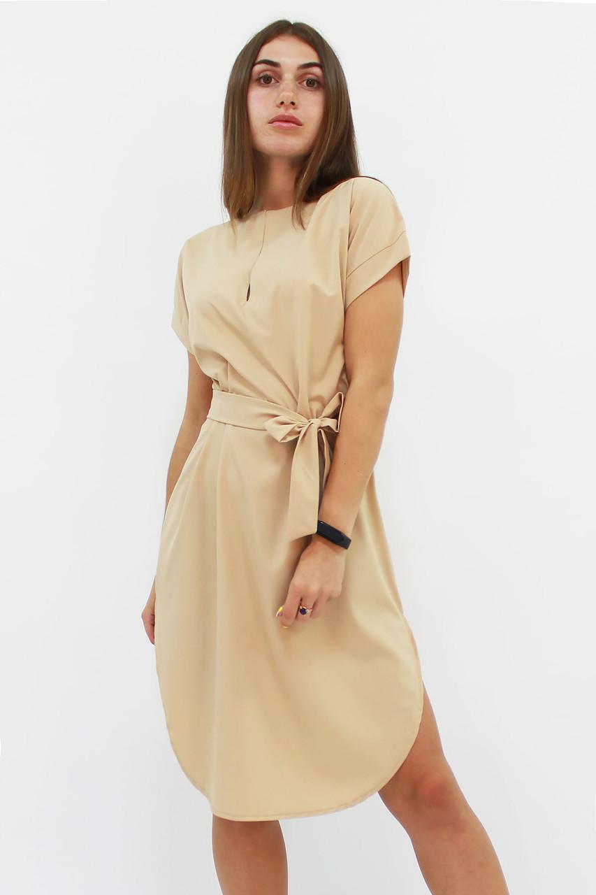 Повседневное женское платье Megan, бежевый