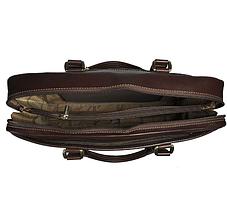 Сумка Tony Perotti кожаная Tuscania 6035 moro коричневый, фото 2
