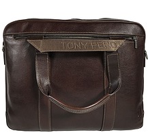 Сумка Tony Perotti кожаная Tuscania 6035 moro коричневый, фото 3