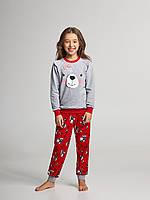 Детская пижама для девочки утепленная Ellen GNP 067/001 (рост 122,128,134,140), фото 1