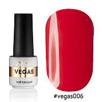 Гель лак №006  Vegas 6 мл