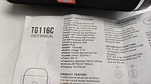 Портативная беспроводная bluetooth бумбокс юсб колонка для музыки блютуз акустика для телефона черная, фото 2
