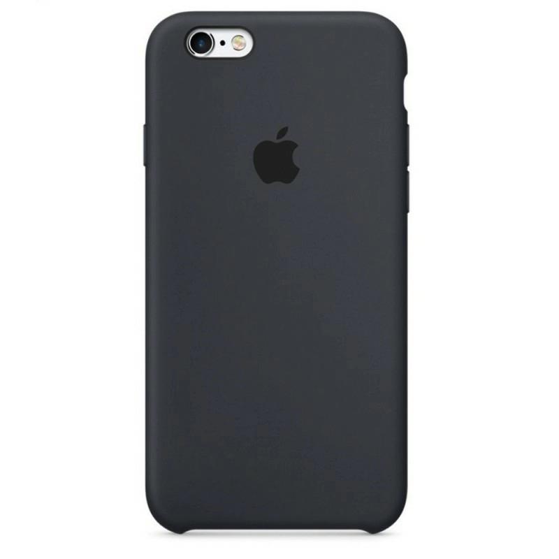 Чохол Silicone Case (Premium) для iPhone 6 plus / 6s plus Charcoal Gray