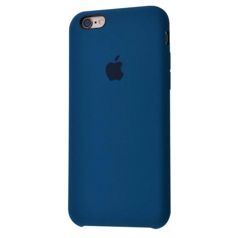 Чохол Silicone Case (Premium) для iPhone 6 plus / 6s plus Cosmos Blue