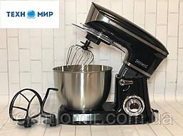 Кухонний тістоміс міксер планетарний Royalty Line RL-PKM1900,7 BLACK 1900 Вт