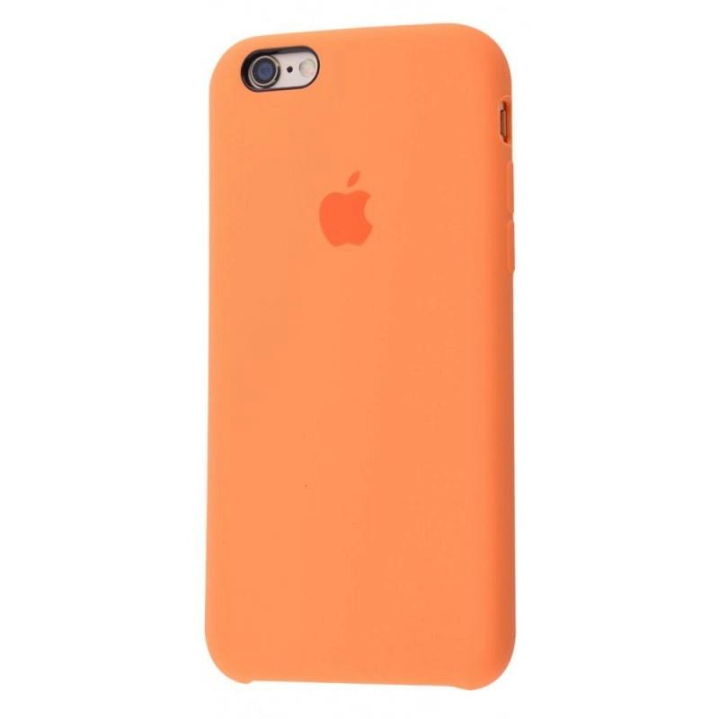 Чохол Silicone Case (Premium) для iPhone 6 plus / 6s plus Papaya