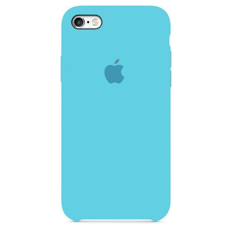 Чохол Silicone Case (Premium) для iPhone 6 plus / 6s plus Blue Sea