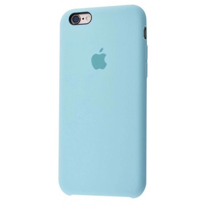 Чехол Silicone Case (Premium) для iPhone 6 plus / 6s plus Turqouise