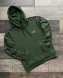 Мужской утепленный спортивный костюм Nike, на флисе, худи - штаны весна/осень/зима, фото 3