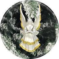 Игрушка на елку «Ангел» (золото, 16см)