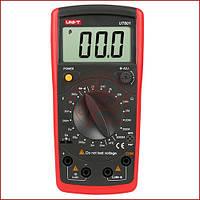 Мультиметр универсальный UNI-T UT-601, измеритель емкости конденсаторов и сопротивления (made in EC), фото 1