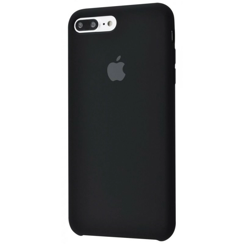 Чохол Silicone Case (Premium) для iPhone 7 Plus / 8 Plus Black
