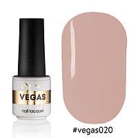 Гель лак №020  Vegas 6 мл