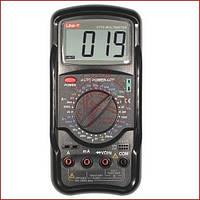 Мультиметр універсальний UNIT UT-55 , вимірювач ємності, частотомір, вольтметр (made in EC)