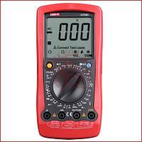Мультиметр цифровой с термопарой универсальный UNI-T UT-58C, вольтметр, прозвонка (made in EC)