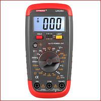 Мультиметр цифровой с термопарой Digital UA-33C, вольтметр, амперметр