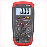 Мультиметр цифровий Digital UA-33D, вольтметр, звукова продзвонювання, підсвітка