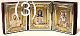 Складень бархат Л (6х9х3) с украшениями., фото 2