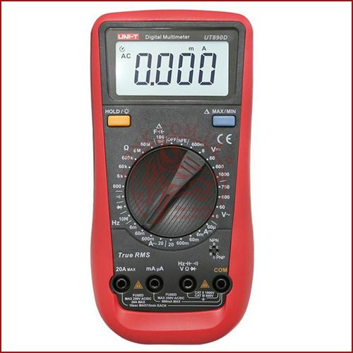 Мультиметр цифровий UNIT UT-890D, тестер юніт, вольтметр, вимірювач ємності конденсаторів