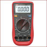 Мультиметр цифровий UNIT UT-890D, тестер юніт, вольтметр, вимірювач ємності конденсаторів, фото 1