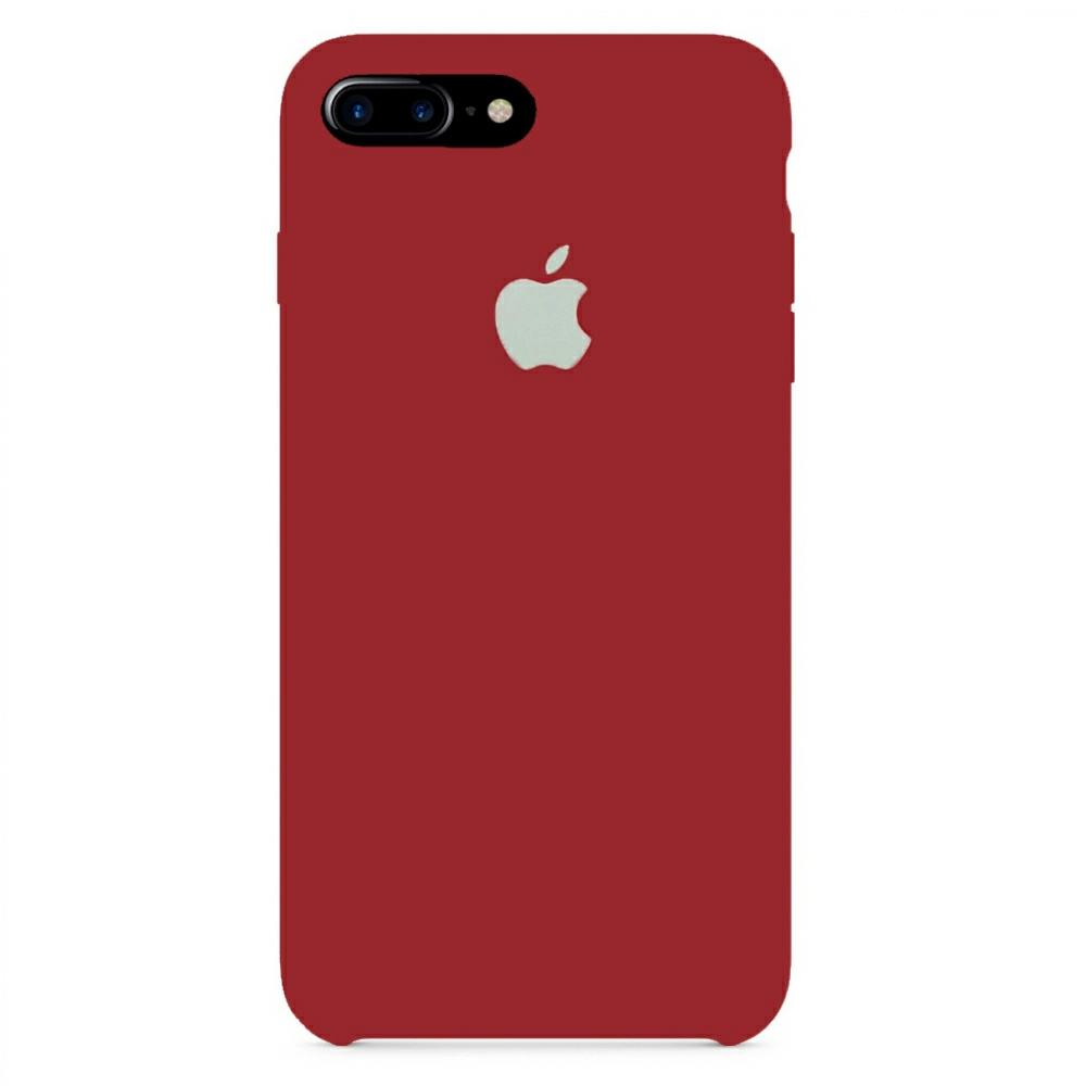 Чехол Silicone Case (Premium) для iPhone 7 Plus / 8 Plus Cherry