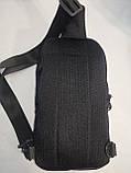 Барсетка OFF WHITE слинг на грудь сумка спортивные Оксфорд ткань1000D качества для через плечо ОПТ, фото 4