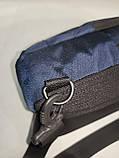 Барсетка OFF WHITE слинг на грудь сумка спортивные Оксфорд ткань1000D качества для через плечо ОПТ, фото 7