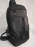 Барсетка OFF WHITE слинг на грудь сумка спортивные Оксфорд ткань1000D качества для через плечо ОПТ, фото 3