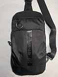 Барсетка OFF WHITE слинг на грудь сумка спортивные Оксфорд ткань1000D качества для через плечо ОПТ, фото 2