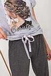 Піжама з довгими штанами Nikoletta 60031, фото 3