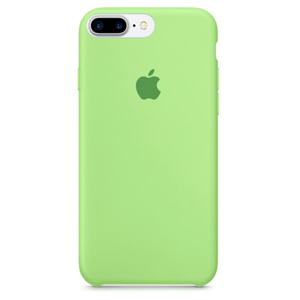 Чохол Silicone Case (Premium) для iPhone 7 Plus / 8 Plus Grass Green