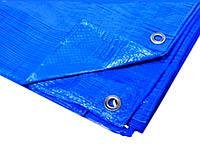 """Тент 5х8 от дождя, укрывной """"Blue"""" 60 г/м2. Ламинированный с кольцами. Полог., фото 1"""