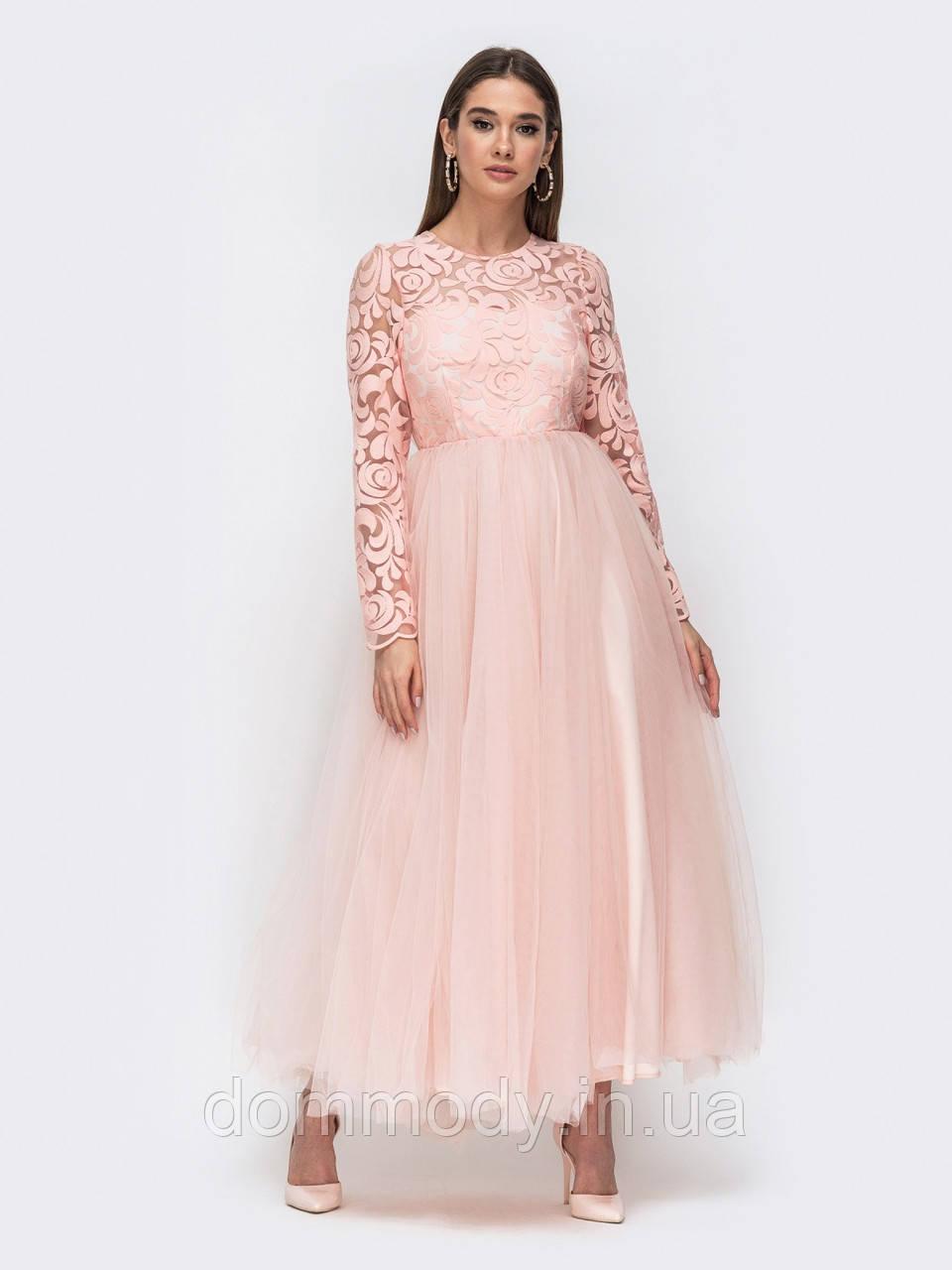 Платье женское Brand peach