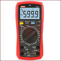 Цифровой мультиметр UNI-T UT-890C (2020 NEW), тестер с термопарой, True RMS, измеритель емкости