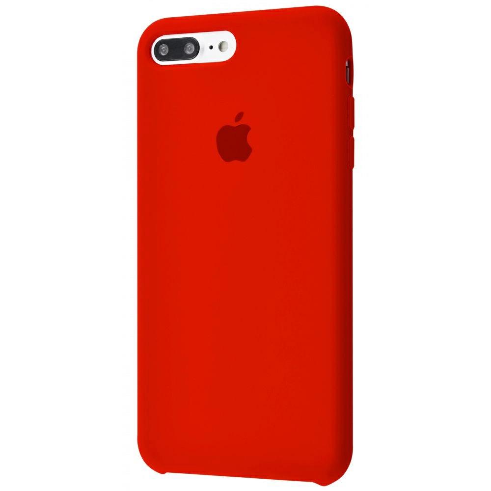 Чехол Silicone Case (Premium) для iPhone 7 Plus / 8 Plus Product RED