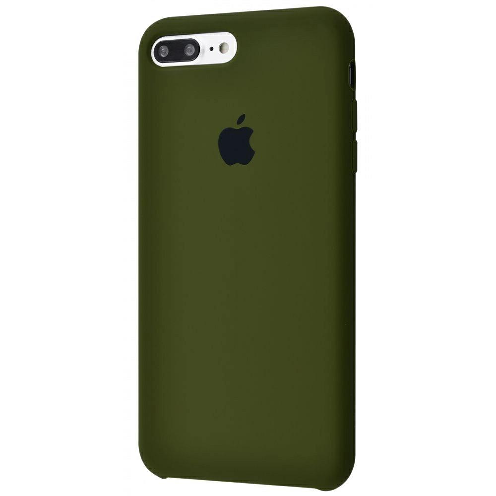 Чохол Silicone Case (Premium) для iPhone 7 Plus / 8 Plus Virid