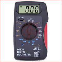 Цифровой мультиметр DT83B, карманный тестер, звуковая прозвонка (Оригинал)