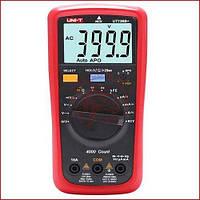 Мультиметр цифровой Unit UT-136B+, автомат, защитный корпус, подсветка, функция NCV