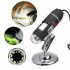 Цифровой микроскоп USB Digital microscope Zoom с LED подсветкой, фото 1