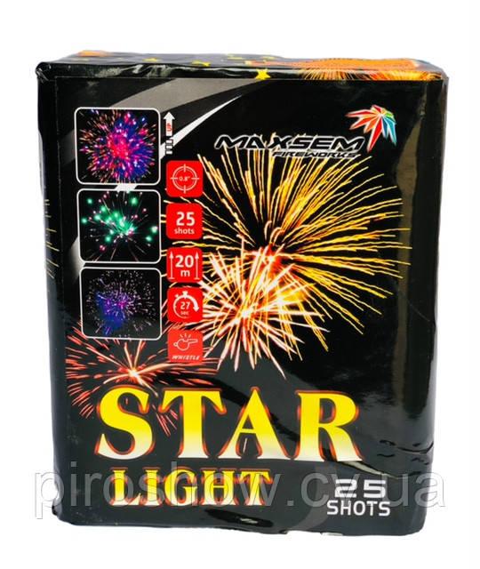 Салют STAR LIGHT 25 выстрелов 20 калибр   GP467 Maxsem