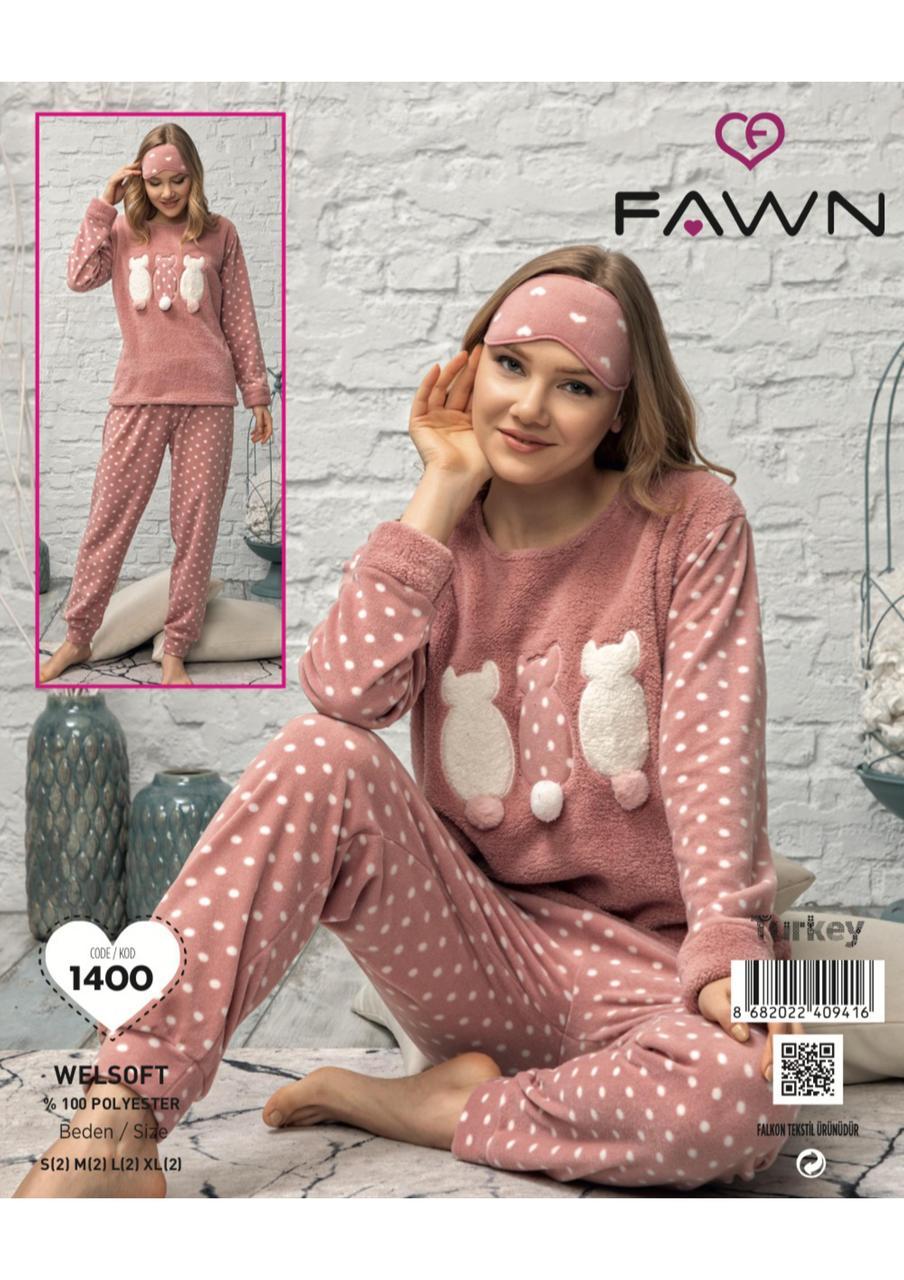 Женская флисовая пижама Seven Турция