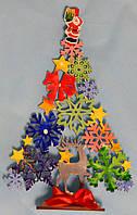 Игрушка деревянная новогодняя елка ( нарисуй сам)