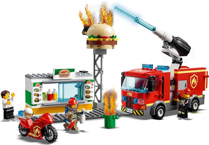 Конструктор Bela City 11213 Пожежа В Бургер-Кафе 345 Деталей